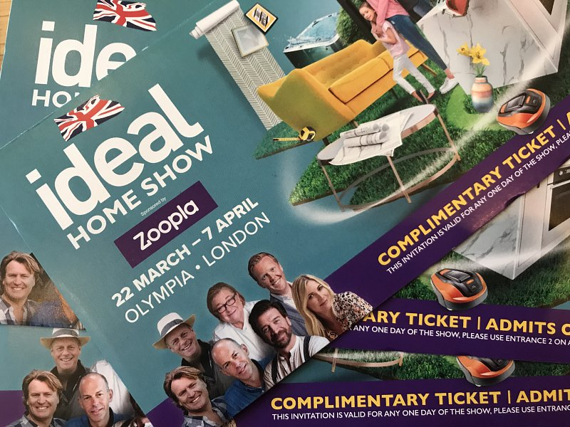 Tickets for Ideal home